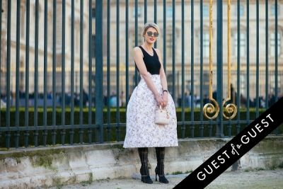 sofie valkiers in Paris Fashion Week Pt 3