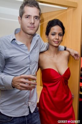 soiti roy in Longchamp/LOVE Magazine event