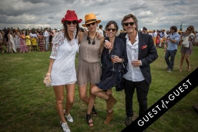 delores marino in Veuve Clicquot Polo Classic 2014