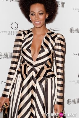 solange in A Private Screening of THE GREAT GATSBY hosted by Quintessentially Lifestyle