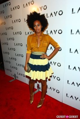 solange knowles in Grand Opening of Lavo NYC