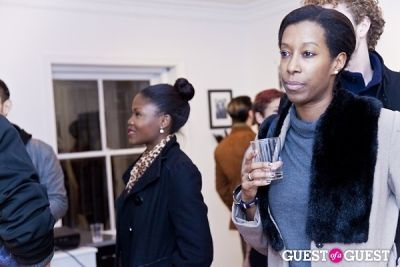solonje burnett in Galerie Mourlot Livia Coullias-Blanc Opening