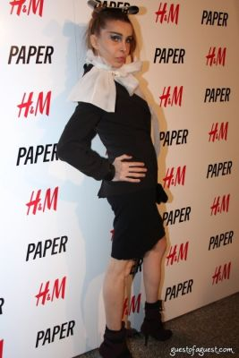 sophia lamar in PAPER Magazine's Beautiful People Party