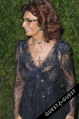 sophia loren in Chanel's Tribeca Film Festival Artists Dinner