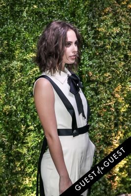 sophie auster in Chanel Tribeca Film Festival Dinner