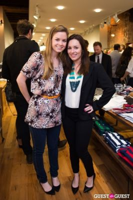 caroline macmillan in GANT Spring/Summer 2013 Collection Viewing Party