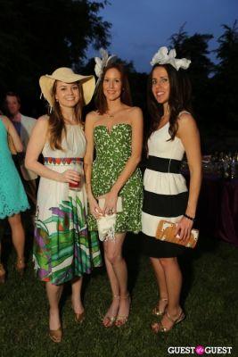 liz davis in Woodrow Wilson House 25th Perennial Garden Party