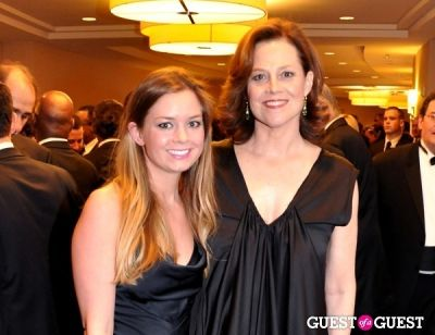 sigourney zeaver in The White House Correspondents' Association Dinner 2012