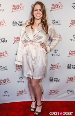 sophie simmons in Perez Hilton 35th Birthday Pajama Party