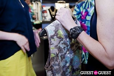 sophie wise in The Well Coiffed Closet and Cynthia Rowley Spring Styling Event