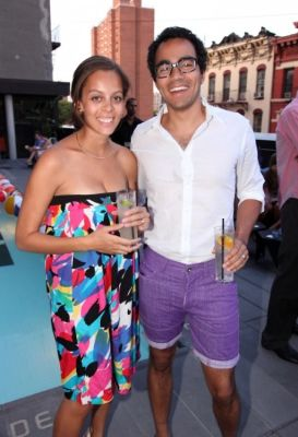 sorcha brophy-warren in Bonobos Swimtrunk Launch