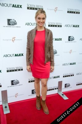 spencer grammer in Los Angeles Premiere of ABOUT ALEX