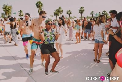 spencer scott in Coachella: LACOSTE Desert Pool Party 2014