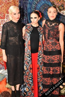 stacey bendet in Alice + Olivia Montauk Beach BBQ