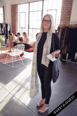 stacy anderson in Production Showroom Launch Event