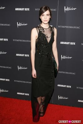 stacy martin in New York Premiere of Magnolia Pictures' Nymphomaniac:Volume One