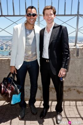 stark sands in Tony Award Nominees Photo Op Empire State Building