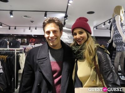 stefan doyno in H&M x Isabel Marant Launch Party