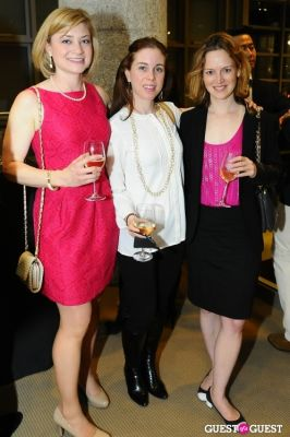 aili mcconnon in IvyConnect NYC Presents Sotheby's Gallery Reception