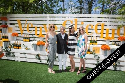 stephanie hoffmann in Veuve Clicquot Polo Classic 2014