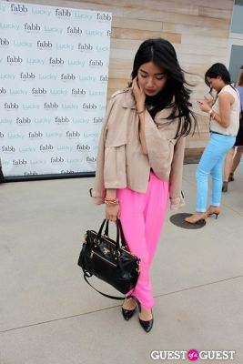 stephanie liu in Lucky Magazine Fashion and Beauty Blogger Conference