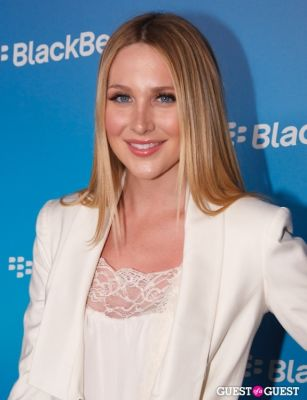 stephanie pratt in BlackBerry Z10 Launch