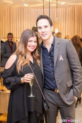 stephanie shames in Equinox & Rebecca Taylor Holiday Preview to support Strides Against Breast Cancer
