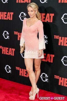 stephanie sherk in The Heat Premiere
