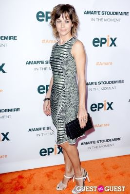 stephanie szostak in Amar'e Stoudemire In The Moment Premiere