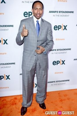 stephen a.-smith in Amar'e Stoudemire In The Moment Premiere