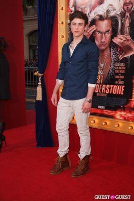 sterling beaumon in World Premiere of The Incredible Burt Wonderstone