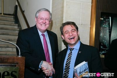steve forbes in Abundance The Future is Better Than You Think Book Launch at Forbes Gallery