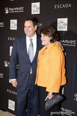 steve sadove in Escada Event at Saks Fifth Avenue