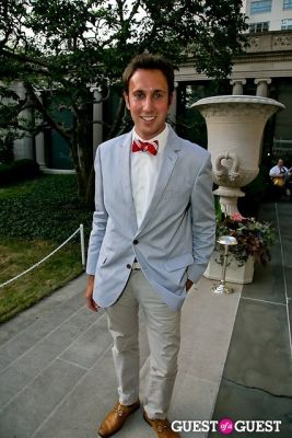 steven beltrani in The Frick Collection Garden Party