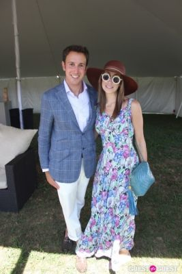 lauren rae-levy in Bridgehampton Polo 2012