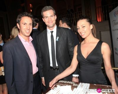 ryan serhant in R Baby Foundation's Food & Wine Gala with Davidoff Cigars
