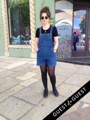 stina tweeddale in SXSW Street Style