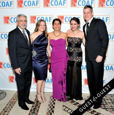 stuart hirsch in COAF 12th Annual Holiday Gala