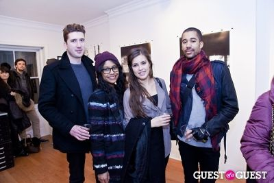 philippe noel in Galerie Mourlot Livia Coullias-Blanc Opening