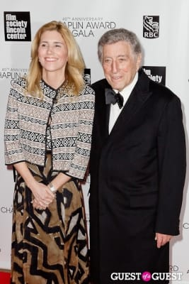 tony bennett in 40th Annual Chaplin Awards honoring Barbra Streisand