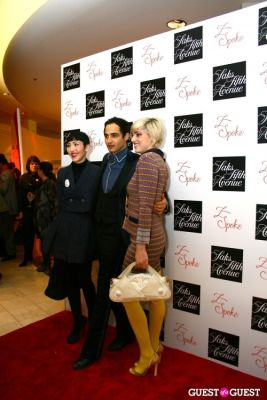 susan posen in Saks Fifth Avenue Z Spoke by Zac Posen Launch