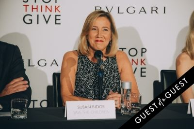 susan ridge in BVLGARI Partners With Save The Children To Launch