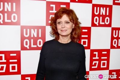 susan sarandon in UNIQLO Global Flagship Opening