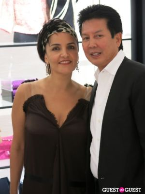 susie wahab-and-tui-pranich in Chanel Bal Harbour Boutique Re-Opening Party And Dinner
