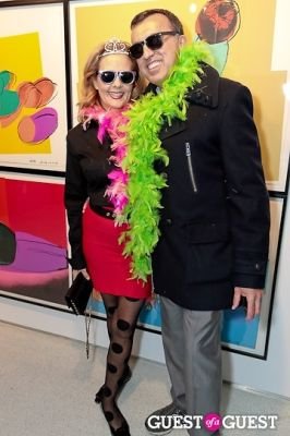 suzanne kahanovitz in Warhol Halloween Party at Christies