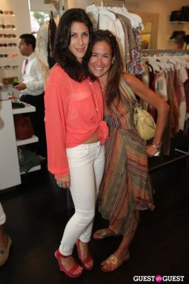 suzanne weinstock in House of Berardi Debut at Blue and Cream