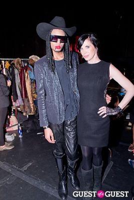 sydney cohan.-stevie-boi in Fame Rocks Fashion Week 2012 Part 11