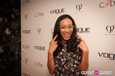 sydney park in 2014 Vogue Eyewear/CFDA Design Series Featuring Charlotte Ronson