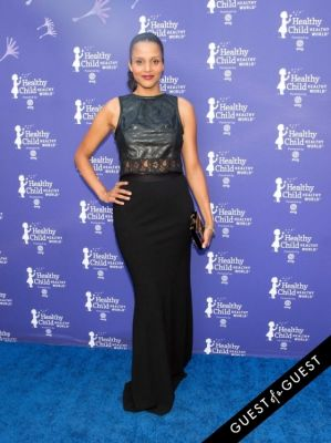 sydney tamilia-poitier in Healthy Child Healthy World 23rd Annual Gala Red Carpet