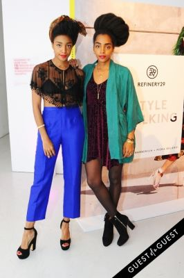 tk quann in Refinery 29 Style Stalking Book Release Party